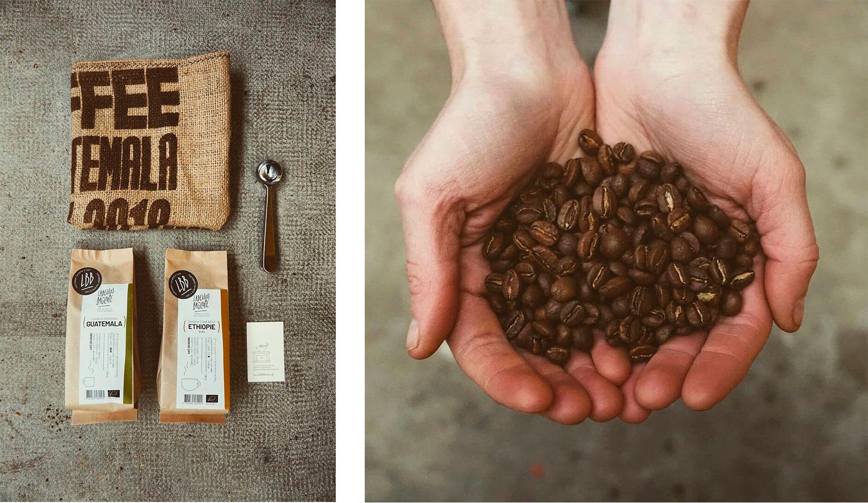 Café écologique Label Brulerie avec la Nef