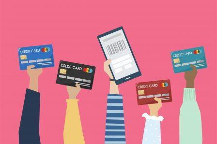 Carte bancaire avec Nef Pro
